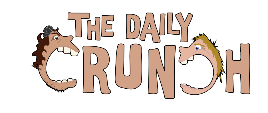 The Daily Crunch – Sports Blog Logo Design