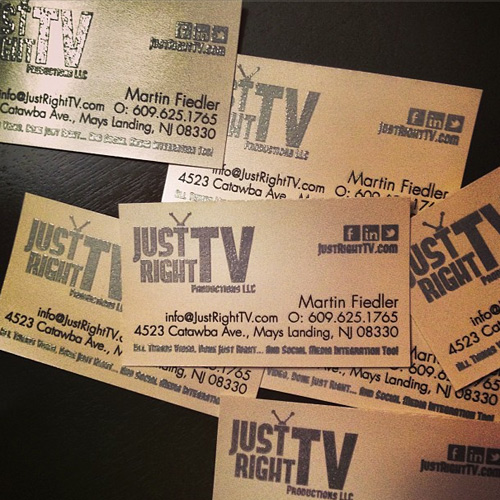 JustRightTV_BusinessCards_by_Eyely Design