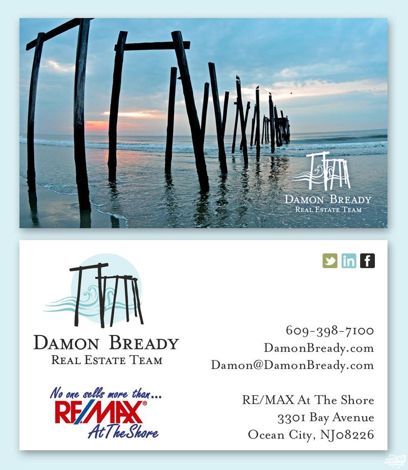 DamonBreadyRealEstateTeamBusinessCardBy Eyely Design