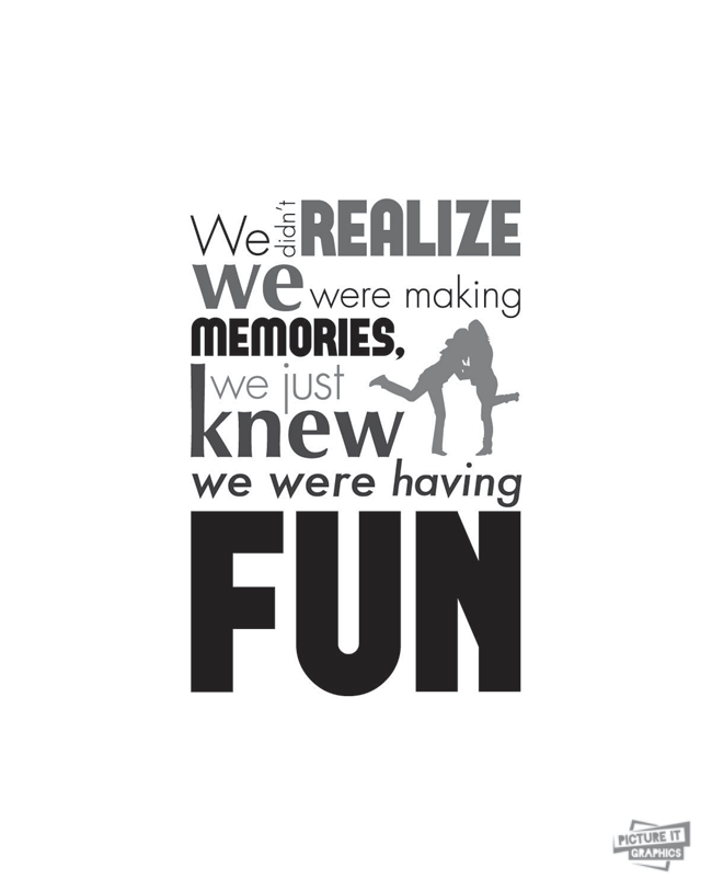 Friend Quote Memories