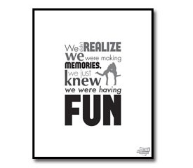 Friends Quote Poster – Making Memories