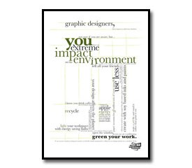 Green Your Work Poster
