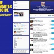 Hamilton Township NJ Committee Candidates Social Media Branding //