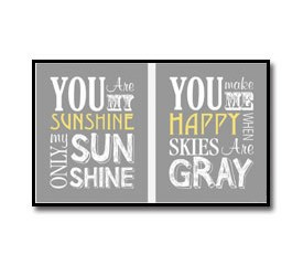 Baby Shower Gift – You Are My Sunshine
