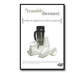 The Reusable Thermos Poster