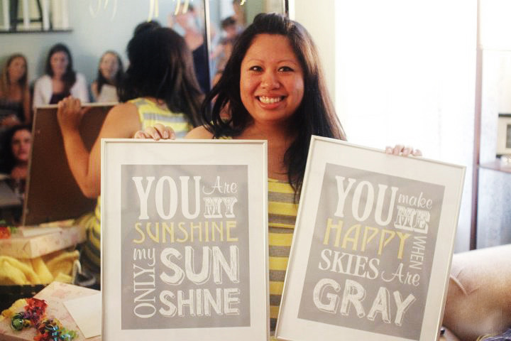You Are My Sun Shine Photo Poster print download