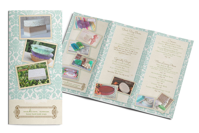 nj graphic designer for a trifold brochure - eyely design