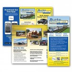 Burke Motor Group Car Dealership Trifold and Rack Card //