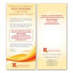 Jeff Kripitz Insurance Agency of NJ Rack Card //