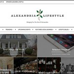 Alexandria Lifestyle Blog WordPress Website