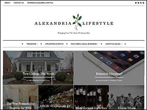Alexandria Lifestyle Blog WordPress Website
