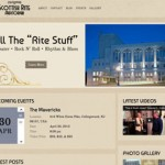 Scottish Rite Auditorium – Music Venue Website Design