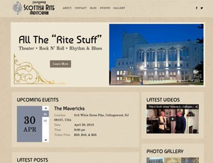 Scottish Rite Auditorium Website