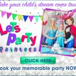 Let's Party Painters – Web Banner