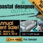 Coastal Designer Outlet – Web Banner