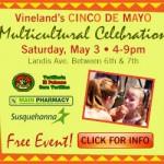 Vineland's Cinco de Mayo Multicultural Celebration – Web Banner