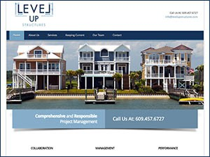 Level Up Structures Building Management Website