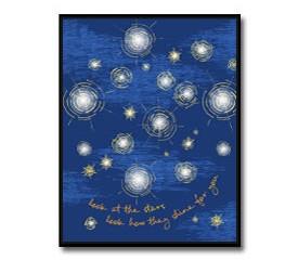 Starry Starry Night Inspired Nursery Art