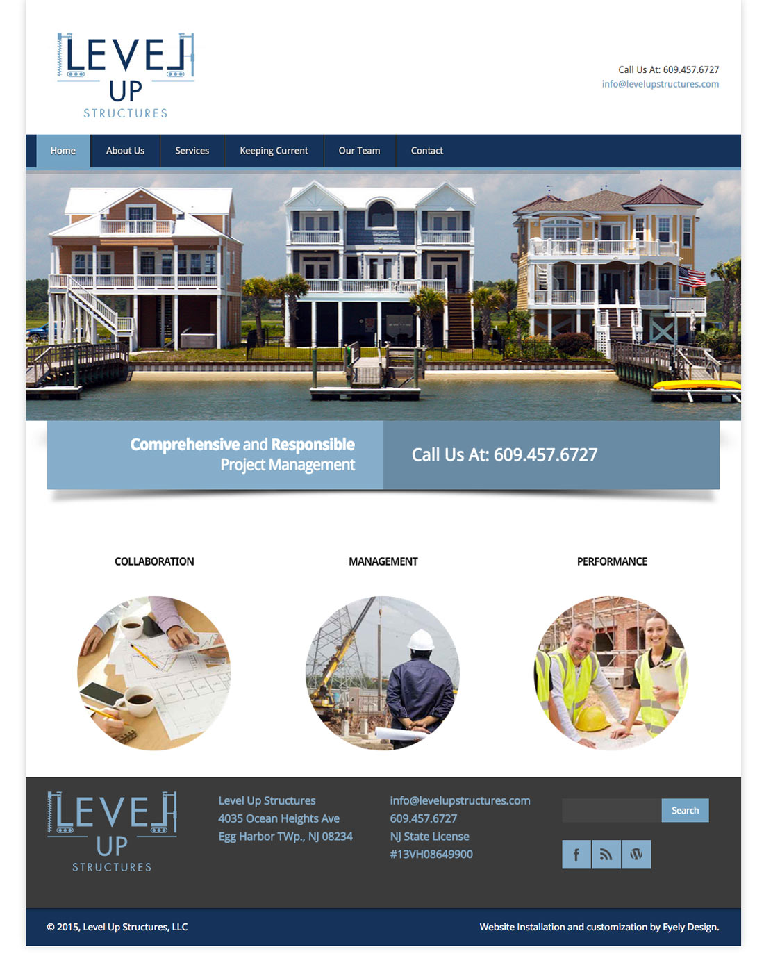 level up structures website building management construction builders house lifters home south jersey nj new jersey