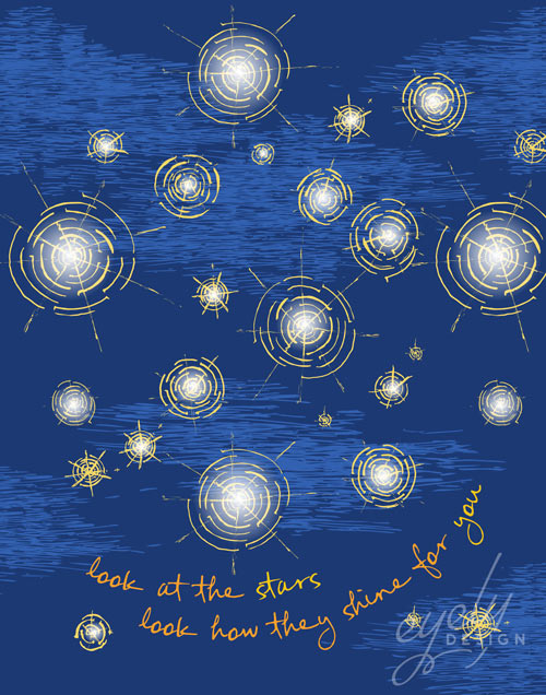 Starry Starry Night Inspired Nursery Art Eyely Design