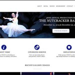 Vineland Regional Dance Company Website Design and Development