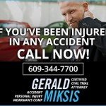 Gerald F. Miksis Web Banner