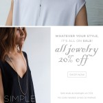 Ruth Barzel Jewelry Custom Email Template Design