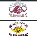 Somertime Pool and Spa Supplies, Inc. Logo Redesign