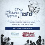 Victorian American Theatre – Event Poster Graphic Design