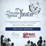 Victorian American Theatre – Event Poster Graphic Design
