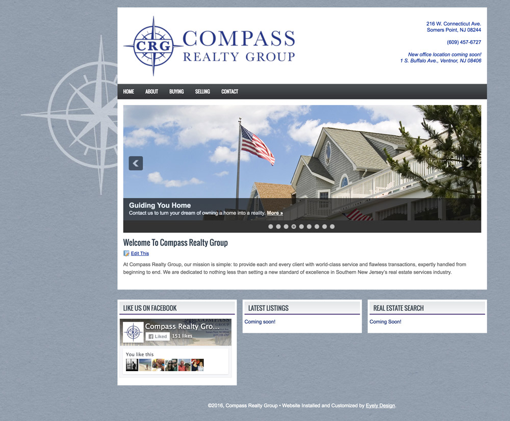 compass realty website south jersey real estate nj