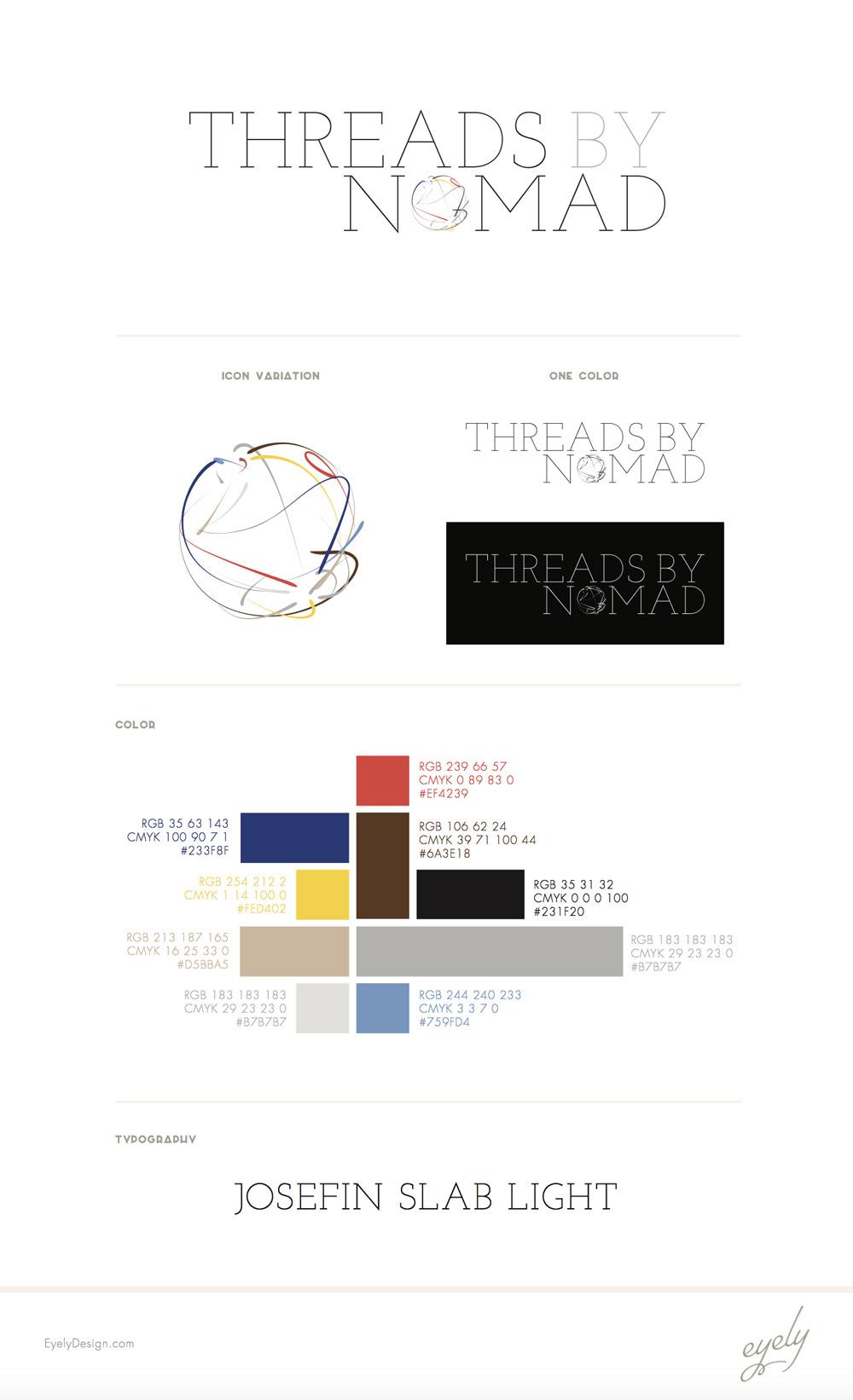 threads by nomad logo clothing fashion global