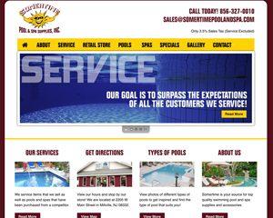 Somertime Pool and Spa Website – Millville, NJ