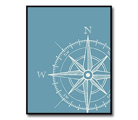 Compass Nursery Room Poster