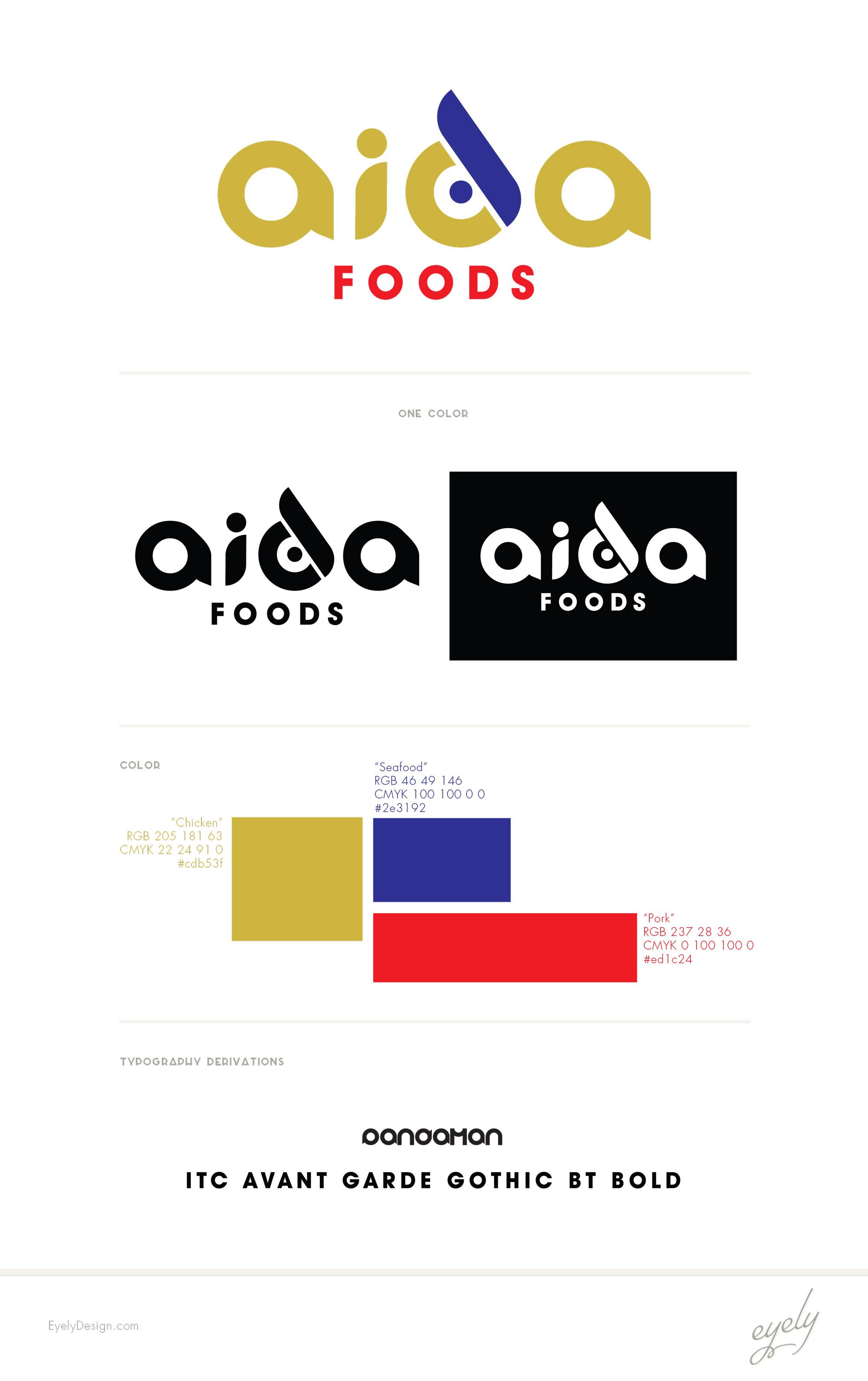 aida foods logo