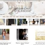 Alexandria Stylebook Website Design for Fashion, Fitness, Home, and Lifestyle Blog