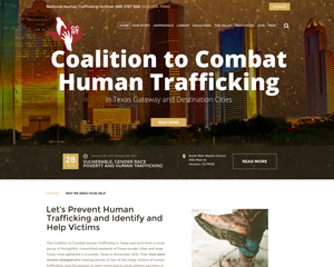 Coalition to Combat Human Trafficking in Texas – Non-Profit Human Trafficking Website
