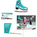 Generations Park Ice Academy – Ice Skating Graphic Design