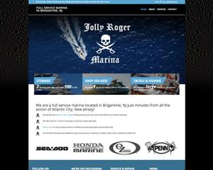 Jolly Roger Marina Website – A SeaDoo Dealer in NJ