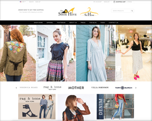 The Shoe Hive and The Hive – Shoe and Clothing Website