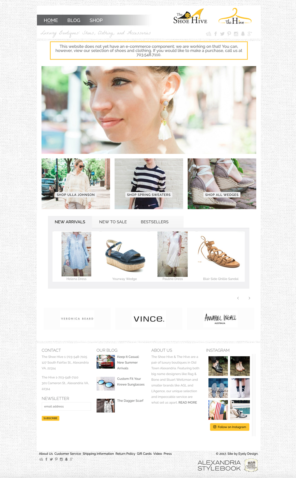 shoe and clothing website the shoe hive the hive website alexandria va