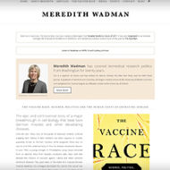 Meredith Wadman, BM, BCh – Author