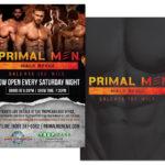 Unlease the Wild – Male Revue Marketing Materials