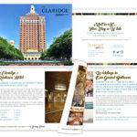 The Claridge –A Radisson Hotel, Tourism Marketing Booklet