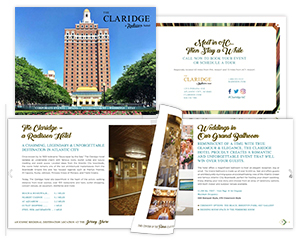 The Claridge – A Radisson Hotel, Tourism Marketing Brochure