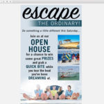 Island Marine Center – Escape the Ordinary Boat Email Template Design