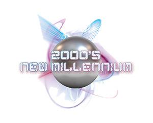 New Millennium – 2000s Style Logo