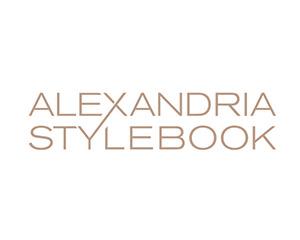 Alexandria Stylebook – Fashion Logo
