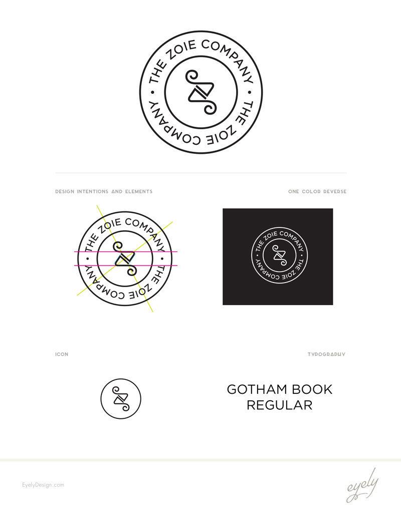 The Zoie Company logo Style Sheet