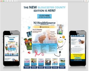 NJ HealthSource – GC 2018 Book Email Template Design
